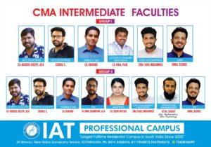 CMA Intermediate Faculties
