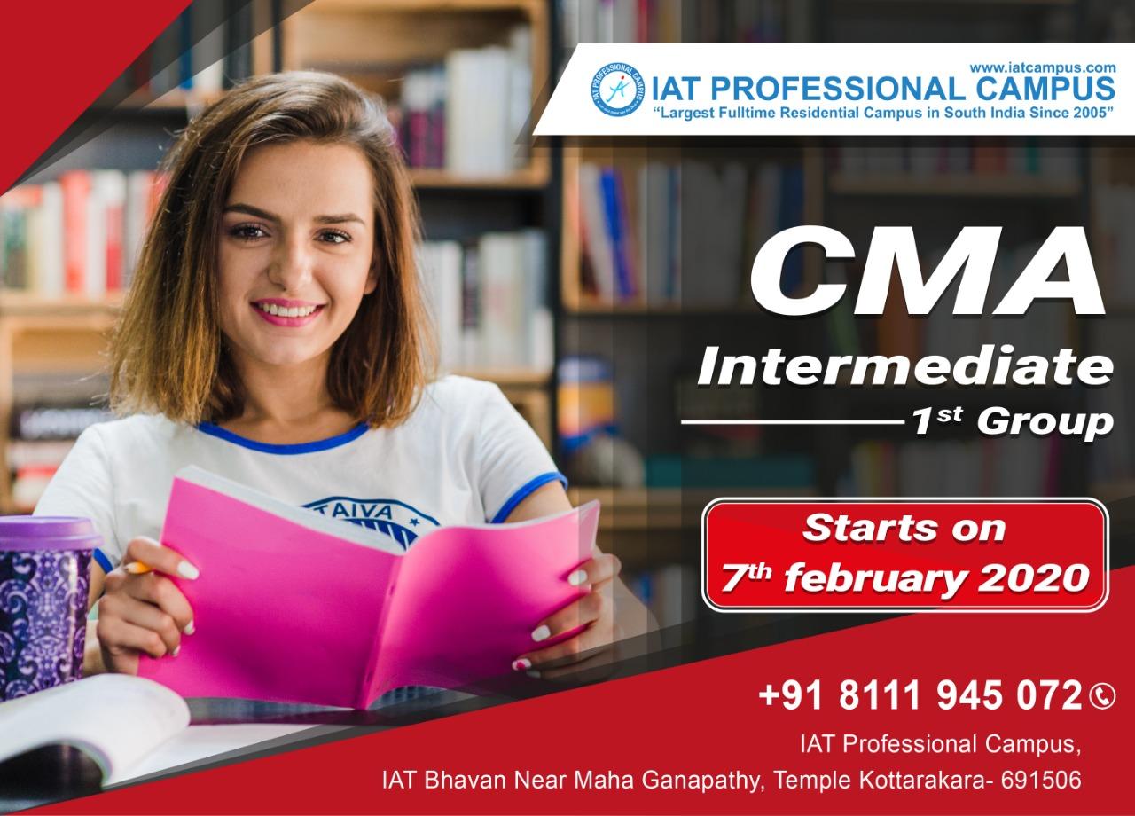 CMA Intermediate 1st Group