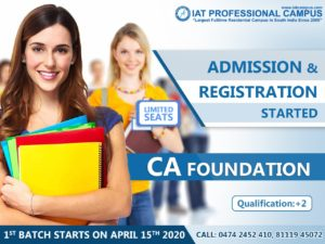 CA Foundation April 2020