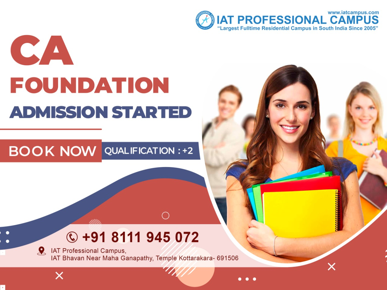 CA Foundation Admission Started